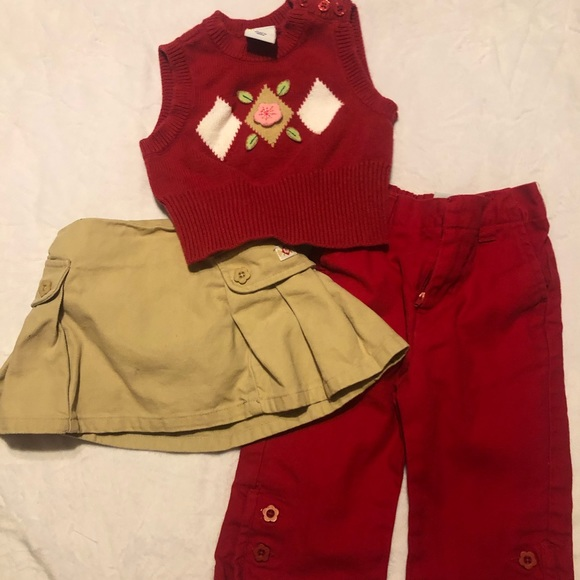 sprockets Other - Adorable 3 piece outfit for girls size 18 months